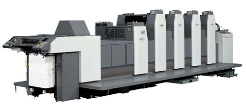 Impressions In Print's Ryobi offset printing press